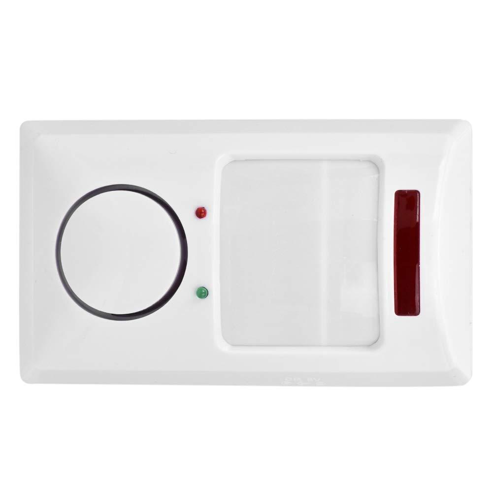 VBESTLIFE Sistema de Alarma Antirrobo de Puertas y Ventanas para Seguridad del Hogar Alerta de la Pared Detector del Sensor de Movimiento Infrarrojo 105dB: ...