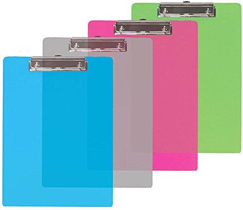 Bazic Memo Size Bulk Plastic Clipboard W/ Low Profile [72 Pieces] - Product Description - Bazic Memo Size Plastic Clipboard W/ Low Profile Clip Durable Plastic Backboard. Clipboard Measures 9 X 6 X 0.62500 Corrosion-Resistant Low Profile Clip As ... by BIMS