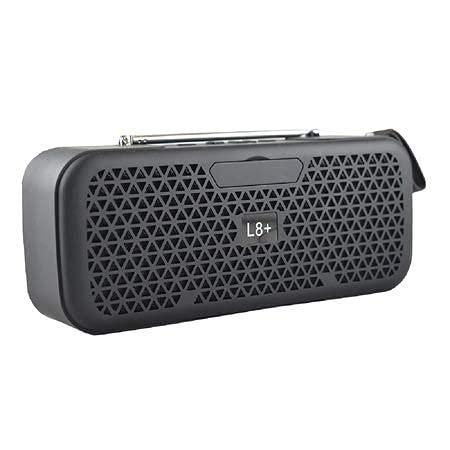 JUST BLACK Bluetooth Speaker L8 Plus Mini Soundbar