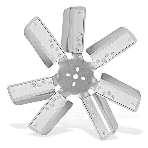 "Flex-a-lite (4818) 18"" 7-Leg Belt Driven Flex Fan, Silver"