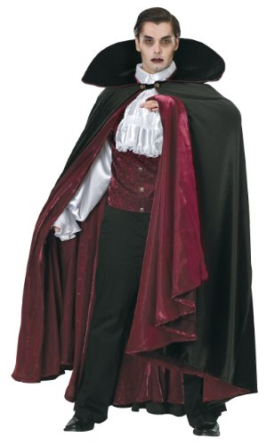 Adult Transylvania Vampire Costumes (Rubie's Costume Grand Heritage Collection Deluxe Count Of Transylvania Costume, Black, Standard)
