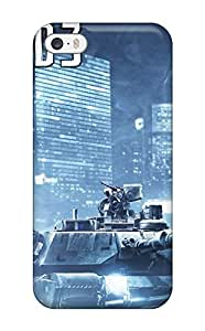 Fashion Tpu Case For Iphone 5/5s- Battlefield 3 War Defender Case Cover
