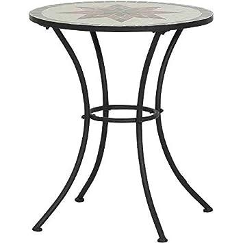 Table de jardin Constanza, mosaïque meubles en Méditerranée manche ...