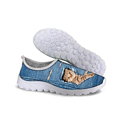 Kat Ontwerp Comfortabele Sneakers Schoenen 40