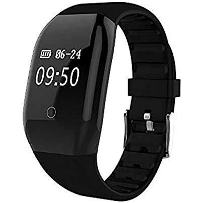BUFOPER Fitness Tracker with Heart Rate HR 4 0 Bluetooth IP67 Waterproof and Dustproof Sports Wristband Sleep Monitor Flip Screen for Android and IOS Estimated Price -