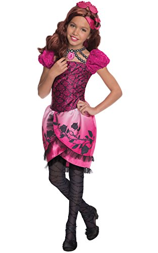 Ever After High Costumes Briar Beauty (Rubies Ever After High Child Briar Beauty Costume, Child Medium Ages 5 -7 Years)