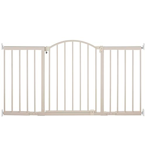 Indoor Safety Gate Walk Thorugh 6 Foot Wide Baby Infant Prot