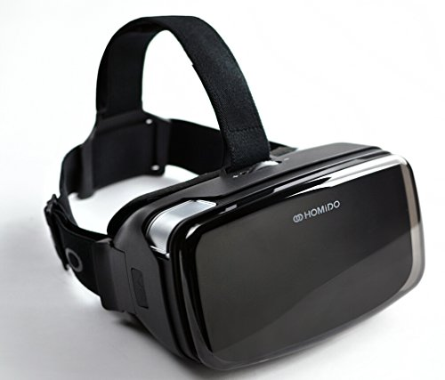 Virtual Reality Headset for Smartphone Homido V2 VR Headset Fit For 4'-5.7'...