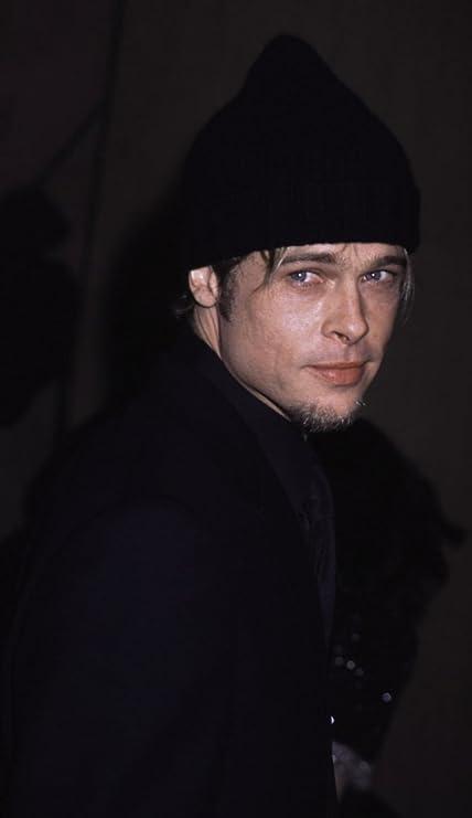 Amazon.com  Brad Pitt wearing a beanie Photo Print (24 x 30)  Home ... 117ca85e84f