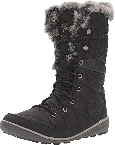 Columbia Heavenly Omni-Heat Snow Boot Winter Shoe - Black/Kettle - Womens - 7.5 by Columbia