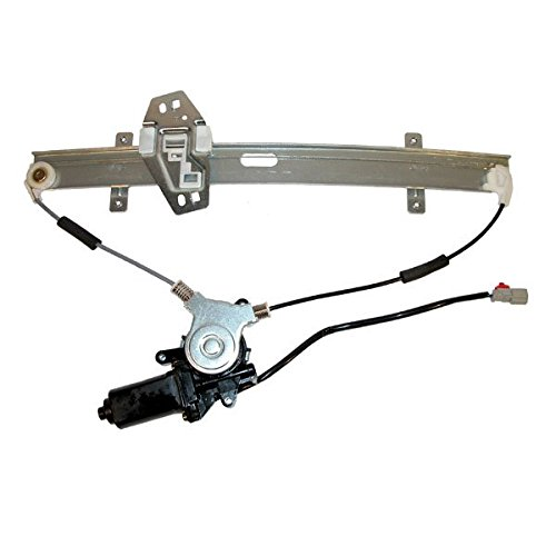 Door regulator replace passenger side front door for 1998 honda civic power window regulator
