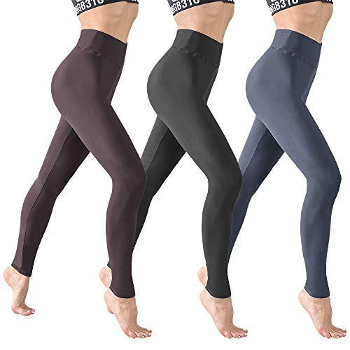 - Natural Feelings High Waisted Leggings for Women Ultra Soft Stretch Opaque Slim Yoga Leggings One Size & Plus Size