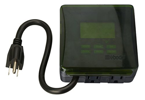 Coleman Cable Inc. 50015 Outdoor Digital Timer Digital - Hea