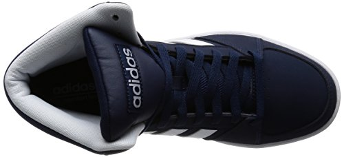 adidas Vs Hoops Mid, Zapatillas de Deporte para Hombre Negro / Blanco (Maruni / Ftwbla / Ftwbla)