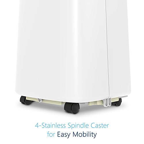JHS 8,000 BTU Air Portable Unit, Small with Timer, Mode and 2