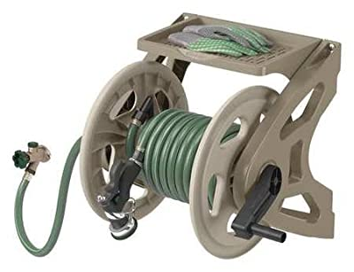 Wall Mount Hose Reel, 15 in. dia