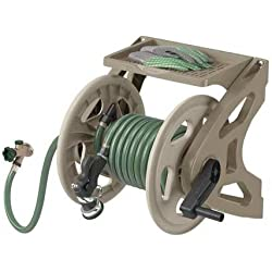SUNCAST Wall Mount Hose Reel 15 in Dia