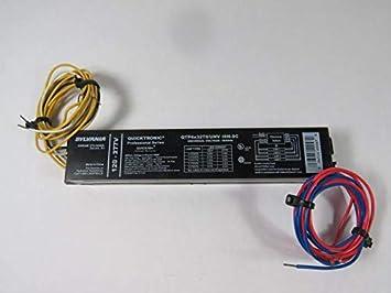 49947 4 FLUORESCENT Ballasts-Fluorescent-HID OSRAM SYLVANIA QTP4x32T8//UNV-ISN-SC