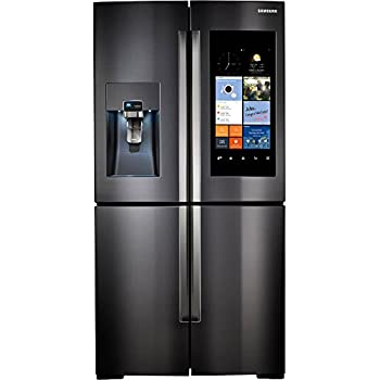 Samsung RF22K9581SG / RF22K9581SG/AA / RF22K9581SG/AA 22 Cu. Ft. Black Stainless 4 Door Family Hub Counter Depth Refrigerator
