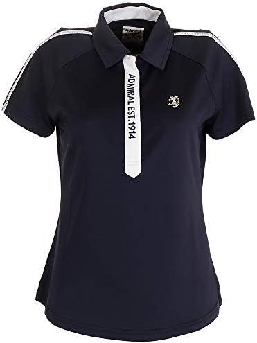 (アドミラル) スリーヴライン ポロシャツ ADLA002-NVY