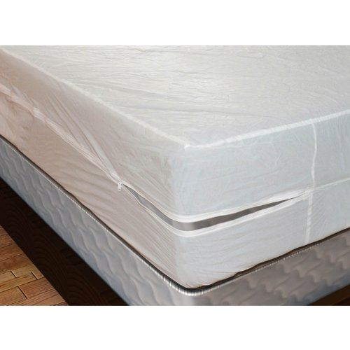 Shop Bedding Royal Mystique Vinyl Zippered Mattress Cover (Twin, 9