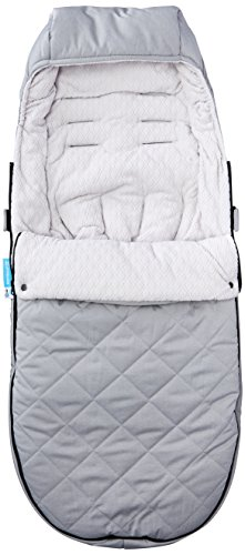 UPPAbaby CozyGanoosh Footmuff, Pascal (Grey) by UPPAbaby