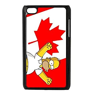 Ipod Touch 4 Phone Case Homer Simpson's OC-C30327