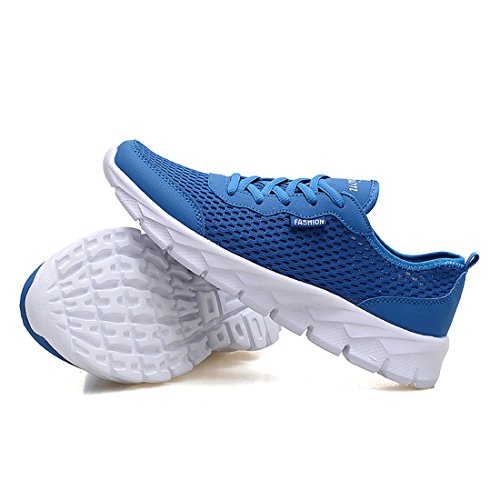 Shoes Shoes Outdoors FOBEY Casual Breathable Mesh Blue Comfortable Women Men Running Fashion Sport xXZXw8BqP
