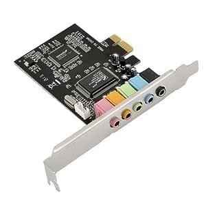 Soz Easygo nuevo PCI Express PCI-E 5.1 CH 6 canales Tarjeta ...