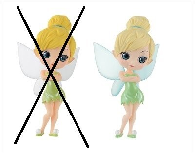 Q posket Disney Characters Tinker Bell Pastel color version