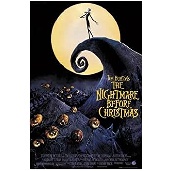 Amazon.com: THE NIGHTMARE BEFORE CHRISTMAS POSTER Moon NEW 24x36 ...