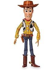 """Disney Winkel Interactieve Talking Action Figure van Toy Story, 35cm/15"""", Kenmerken 10+ Engels zinnen en geluiden, interageert met andere figuren en speelgoed, verwijderbare hoed, geschikt voor kinderen vanaf 3 jaar"""