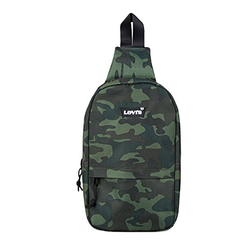 Levi's Boys' Big Crossbody Sling Bag, Camo, O/S - Logo Sling Backpack