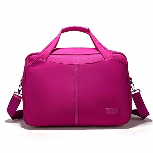 lässig tragbares reisetasche, sporttasche, die damen reisen umhängetasche,rose red rose red