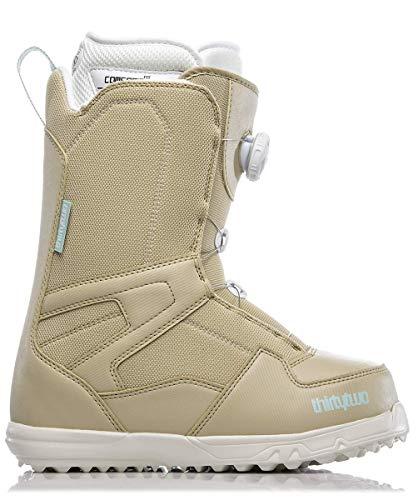 ThirtyTwo Shifty Boa Women's '18 Snowboard Boots, Tan, 8