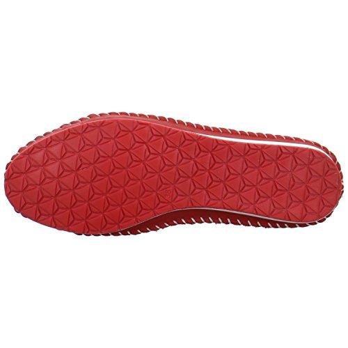 Andrea Conti 0020502021rot - Zapatos de cordones de Piel para mujer Rojo