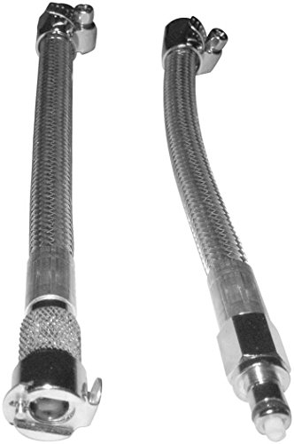 - Goodridge Fuel Crossover Line with Quick Disconnect-Stainless HDFL001