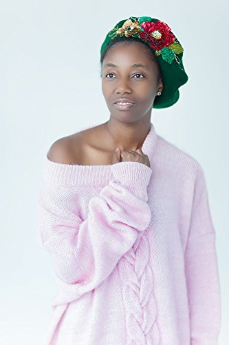 Pink plus size sweater Loose knitted pullover V-neck sweater Oversized womens knitwear Pink sweater Pink Designer clothing by Esh by esh