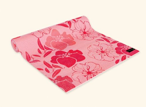 Wai Lana Yoga and Pilates Mat Springtime (Pink)