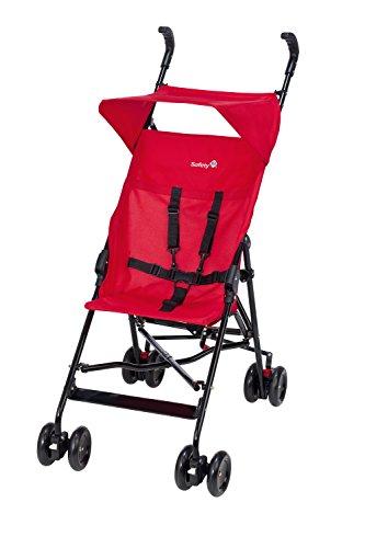Safety 1st Peps, kompakter Buggy mit Sonnenverdeck, plain red