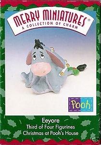 "Hallmark Merry Miniatures ""A Collection of Charm"" Eeyore -1999"