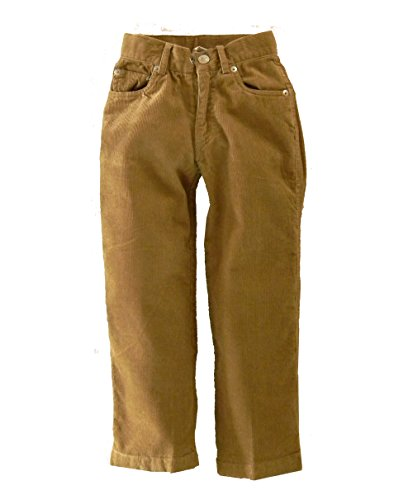 Pants Wes Willy Boys And (City College Little Boys Corduroy Pants (5, Khaki))