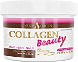 Collagen Beauty Powder By Suzy Cohen (3.4 oz) Anti Aging Hydrolyzed Protein Collagen Powder Type I and III for Supple Skin, Shiny Hair & Strong Nails- Unflavored Powder Drink with Verisol- Made in US