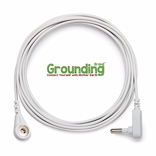 Grounding Brand Extra Deep Fitted Queen Size Sheet with Grounding Connection Cable, 400TC Conductive Mat with Pure Silver Thread for Better Sleep, Natural Wellness and Healthy Earth Energy, Grey by Grounding Brand (Image #5)