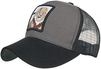 ZHOUXING Gorra de b/éisbol de Malla de Moda Unisex Animales encantadores Gorras Mujeres y Hombres Gorra Pap/á Sombrero Verano Hueso Ajustable
