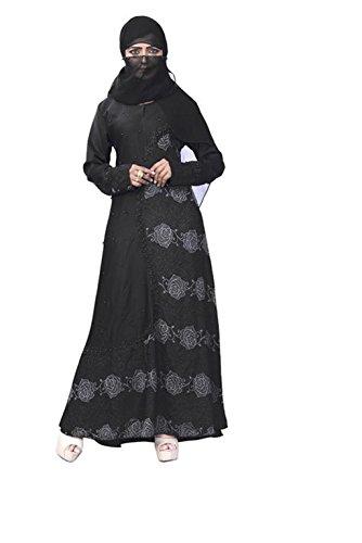 Women's Muslim Long Clothing Abaya Islamic Kaftan Burka Lady Cocktail Dress by CRAZYBACHAT