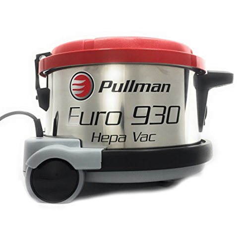 Pullman Euro 930 HEPA 4 Gallon Canister Style HEPA Vacuum by TheSafetyHouse (Vac Holt Pullman)