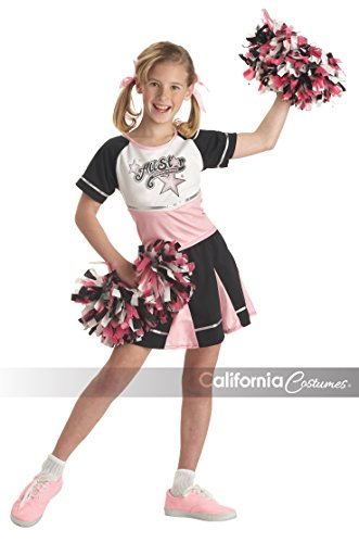 [California Costumes All Star Cheerleader Child Costume, Large] (Halloween Costumes Of Cheerleaders)