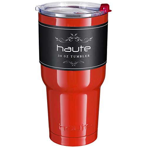 Haute 30 oz Stainless Steel Color Tumbler with Spill Proof L
