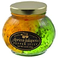 Aloha From Oregon Apricot and Jalapeño Split Pepper Jelly
